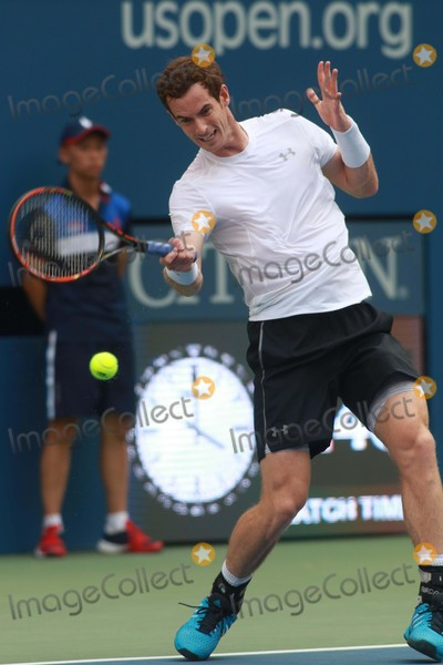 Andy Murray Photo - Andy Murray Us Open Tennis Day 4 at Arthur Ashe Stadium 9-3-2015 Photo by John BarrettGlobe Photos