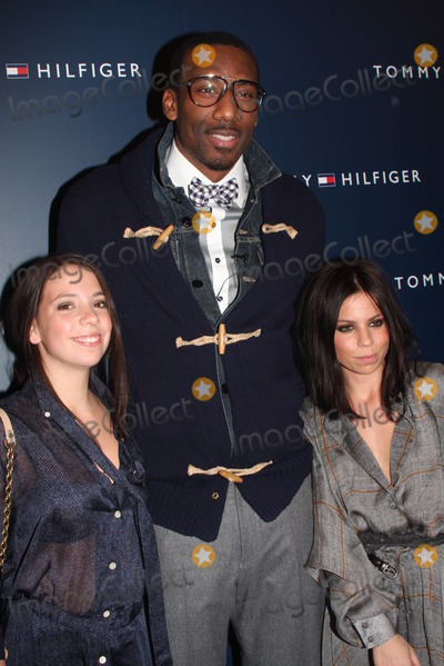 Amare Stoudemire Photo - Amare Stoudemire Elizabeth Hilfiger and Ali Hilfiger New York Fashion Week-tommy Hilfiger Fashion Show (Celebrities Backstage) Lincoln Centernyc 02-13-2011 Photos by Barry Talesnick_ipol-globe Photos Inc 2011