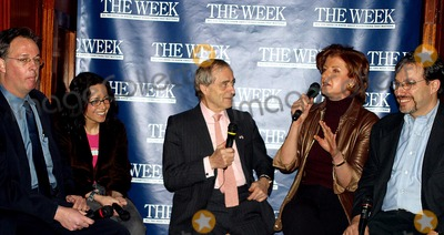 Ariana Huffington Photo - K29530RM         SD0310THE WEEK MAGAZINE HOSTS AN IMPORTANT CONVERSATION ABOUT POLITICAL PROPAGANDA IN MEDIA BIAS LEFT OR RIGHTMICHAEL JORDANS THE STEAKHOUSE GRAND CENTRAL STATION NORTH BALCONYPHOTORICK MACKLER  RANGEFINDERS  GLOBE PHOTOS INC  2003BILL MCGOWANJANEANE GAROFALOHAROLD EVANS ARIANA HUFFINGTON AND ERIC ALTERMAN