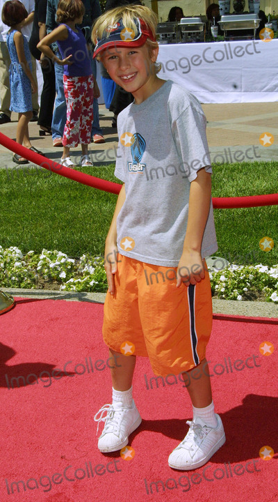 Cayden Boyd Photo - Cayden Boyd Hey Arnold the Movie - Premiere Paramount Studios Hollywood CA June 23 2002 Photo by Nina PrommerGlobe Photos Inc2002