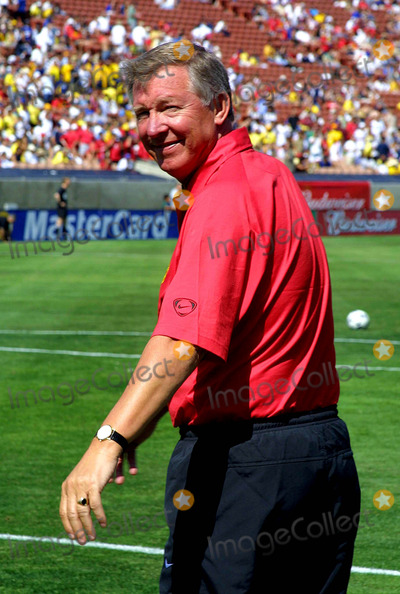 Alex Ferguson Photo - - Manchester United Versus Club America - Champions World Series 2003 - Los Angeles Coliseum Los Angeles CA - 07262003 - Photo by Clinton H Wallace  Ipol  Globe Photos Inc 2003 - Sir Alex Ferguson