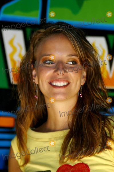 Amber Brkich Photo - Survivor Allstars Castaways at Madison Sqaure Garden New York City 05092004 Photo Rick Mackler  Rangefinders  Globe Photos Inc 2004 Amber Brkich