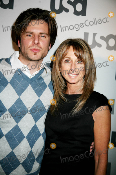 James Roday Photo - USA Network Celebrates Its Lineup of Stars at the 2008 Upfront the Modern New Yorkcity 3-26-08 Photos by Sonia Moskowitz Globe Photos Inc 2008 James Roday and USA Network President Bonnie Hammer