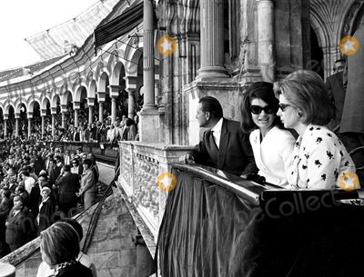 Jacqueline Kennedy Onassis Photo - Jacqueline Kennedy and the Duchess of Alba Sit in the Box of Honor at the Corrida of Seville Globe Photos Inc Jacquelinekennedyonassisobit