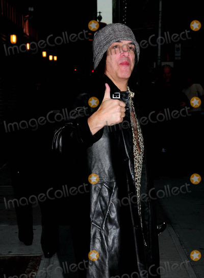Paul Stanley Photo - Paul Stanley Outside Late Night with David Letterman Show Ed Sullivan Theater New York City 10-06-2009 Photo by Ken Babolocsay-ipol-Globe Photos Inc