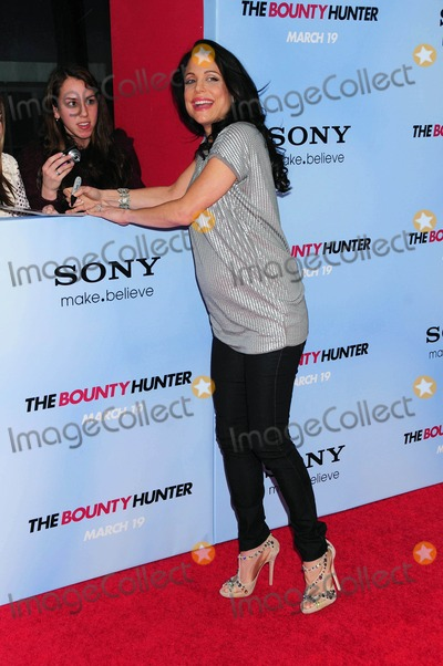 BETHANY FRANKEL Photo - the Premiere of Columbia Pictures the Bounty Hunter at the Ziegfeld Theater in New York City on 03-16-2010 Photo by Ken Babolcsay-ipol-Globe Photos Inc Bethenny Frankel