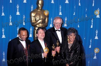 Lena Horne Photo - Sd0329 65th Annual Acadedmy Awards Quincy Jones Alan Menken Lena Horne and Tim Rice Photo Michael Ferguson-Globe Photos Inc 1993 Quincyjonesretro