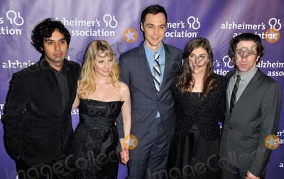 Kunal Nayyar Photo - Kunal Nayyar Melissa Rauch Jim Parsons Mayim Bialik Simon Helberg attending the 21st Alzheimers Association  a Night at Sardis Held at the Beverly Hilton Hotel in Beverly Hills California on March 20 2013 Photo by D Long- Globe Photos Inc
