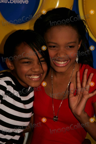 China McClain Photo - Arrivals and Departures at the New York Premiere of Grown Ups NYC 06-23-2010 Photos by Rick Mackler Rangefinder-Globe Photos Inc2010 China Ann Mcclain (on Left) with Sister