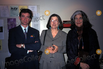 jay Inerney Photo - Authors Benefit Reading St Peters Church 12-05-1996 Photo Rose Hartman-Globe Photos Inc 1996 Susan Sontag Jay Inerney Judith Rossner Susansontagretro