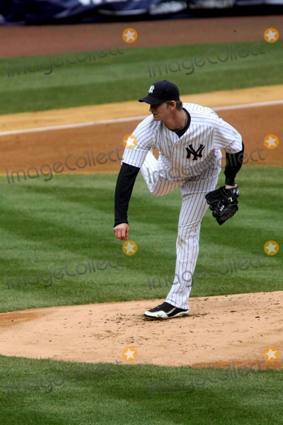 AJ Burnett Photo - Aj Burnett at Yankees Vs Minnesota Twins Game at Yankee Stadium Bronx New York 04-07-2011 Photo by John BarrettGlobe Photos Inc