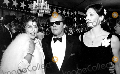 Ava Gardner Photo - Ava Gardner Jack Nicholson and Anjelica Huston 4385 R DominguezGlobe Photos Inc Jacknicholsonretro