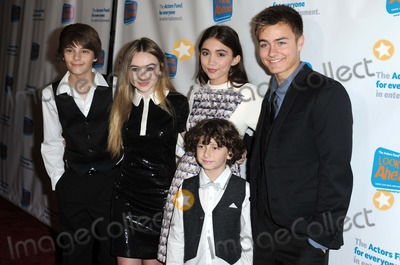 August Maturo Photo - Corey Fogelmanis Sabrina Carpenter Rowan Blanchard August Maturo Peyton Meyer attending the Actors Funds Looking Ahead Awards Held at the Taglyan Center in Hollywood California on December 4 2014 Photo by D Long- Globe Photos Inc
