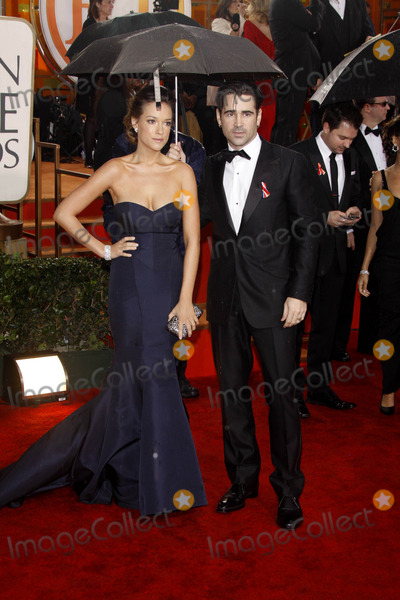 Alicja Bachleda Photo - Actors Alicja Bachleda and Colin Farrell Arrive at the 67th Annual Golden Globes Awards Presented by the Hollywood Foreign Press Association at Hotel Beverly Hilton in Beverly Hills Los Angeles 01-17-2010 Photo by Alec Michael-Globe Photos Inc 2010