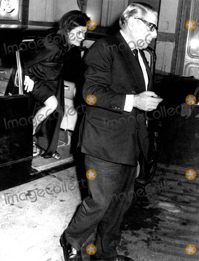 Jacqueline Kennedy Onassis Photo - Jacqueline Kennedy Onassis and Husband Aristotle Onassis SmpGlobe Photos Inc