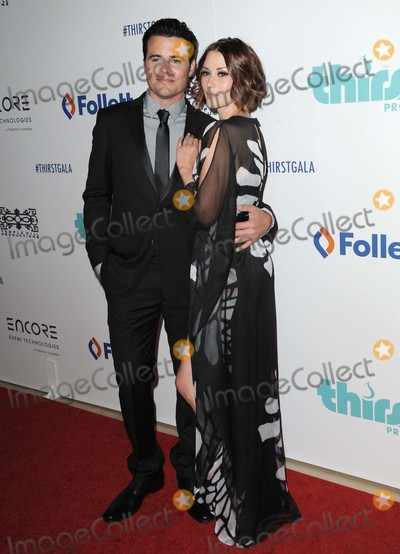 Nathan West Photo - Nathan West Chyler Leigh attending the 6th Annual Thirst Gala Held at the Beverly Hilton Hotel in Beverly Hills California on June 30 2015 Photo by D Long- Globe Photos Inc