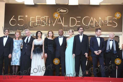 Andrea Arnold Photo - Jury Members Director Alexander Payne (l-r) Director Andrea Arnold  Fashion Designer Jean-paul Gautie Actress Hiam Abbass Actress Emmanuelle Devos Director Raoul Peck Actress Diane Kruger President of the Jury Director Nanni Moretti Actor Ewan Mcgregor and President of the Cannes Film Festival Gilles Jacob Arrive at the Opening of the 65th Cannes Film Festival at Palais Des Festivals in Cannes France on 16 May 2012 Photo Alec Michael Photo by Alec Michael-Globe Photos Inc Photo by Alec Michael-Globe Photos Inc