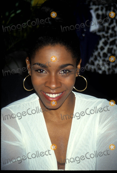 Adrienne-Joi Johnson Photo - adrienne joi-johnson31st Natpe conventionphoto by John barrett-globe Photos inc1994