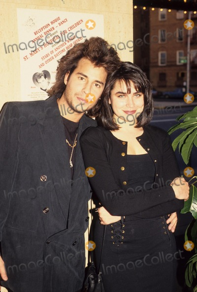 Ricky Paull Goldin Photo - Ricky Paull Goldin with Rena Sofer 1993 L5148eg Photo by Ed Geller-Globe Photos Inc
