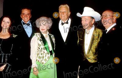 Roy Rogers Photo - June Carter_johnny Cash_dale Evans_billey Graham_roy Rogers Photo Bylisa RoseGlobe Photos Inc 1993 Johnnycashretro