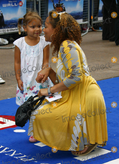 Angela Griffin Photo - Angela Griffin  Daughter Tallulah Jae Actress the Red Carpet Arrivals For Wall E - Premiere at Empire Cinema in London 07-13-2008 Photo by Dave Gadd-allstar-Globe Photos Inc