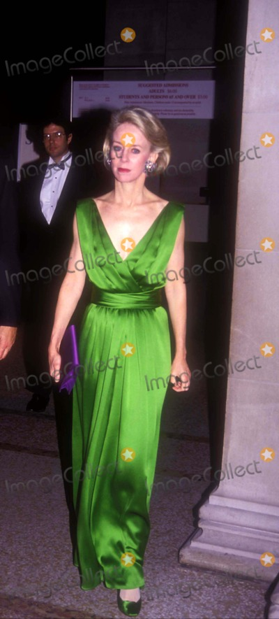 Anne Bass Photo - Costume Institute Gala Benefit 12101991 Ann Bass Photo by John BarrettGlobe Photos Inc