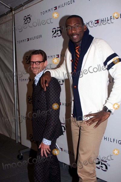 Amare Stoudemire Photo - Vogue Editor E Hamish Bowles (L) and Basketball Player Amare Stoudemire Mercedes-benz Fashion Week Spring 2011 Tommy Hilfiger Fashion Show - Backstage Lincoln Center NYC 09-12-2010 Photos by Barry Talesnick-ipol-Globe Photos Inc 2010