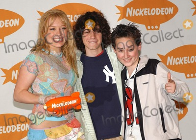 Adam Lamberg Photo - Nickelodeons 16th Annual Kids Choice Awards 2003- Press Rom Barker Hanger Santa Monica CA 04122003 Photo by Fitzroy Barrett  Globe Photos Inc 2003 Hilary Duff Adam Lamberg and Jake Thomas