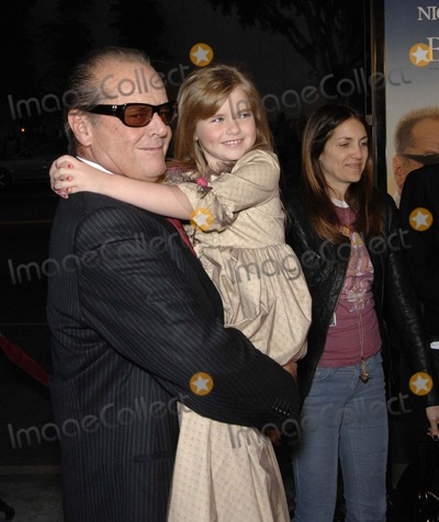 Anne Thompson Photo - Jack Nicholson and Taylor Ann Thompson During the Premiere of the New Movie From Warner Bros Pictures the Bucketet List Held at the Cinerama Dome on December 16 2007 in Los Angeles Photo by Michael Germana-Globe Photosinc