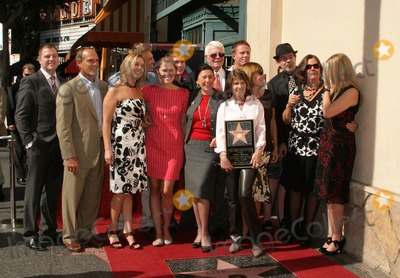 Peter Graves Photo - Peter Graves Honored with Star on the Hollywood Walk of Fame 6667 Hollywood Blvd Hollywood CA 103009 Peter Graves and Wife Joan Endress with Family Photo Clinton H Wallace-photomundo-Globe Photos Inc
