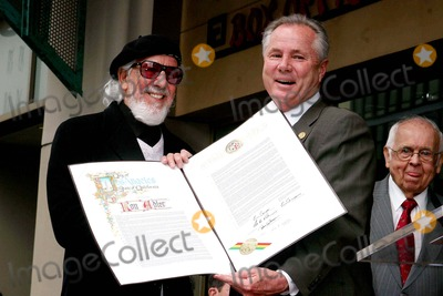 Angel City Photo - Music Producer Lou Adler Honoured with Star on the Hollywood Walk of Fame Hollywood CA 04-06-2006 Photo Clinton H WallacephotomundoGlobe Photos Lou Adler and Tom Labonge - Los Angeles City Councilman 4th District