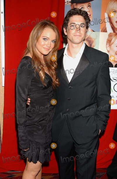 Adam Garcia Photo - Premiere of Confessions of a Teenage Drama Queen the E-walk Theater  New York City 02172004 Photo Ken Babolcsay Ipol  Globe Photosinc 2004 Lindsay Lohan_adam Garcia