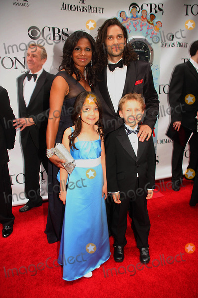 Audra Mcdonald Photo - Arriving at the 63rd Annual Tony Awards at Radio City Music Hall in New York City on 06-07-2009 Photo by Barry Talesnick-ipol-Globe Phtos Inc 2009 I14303bt Will Swenson with Son and Audra Mcdonald