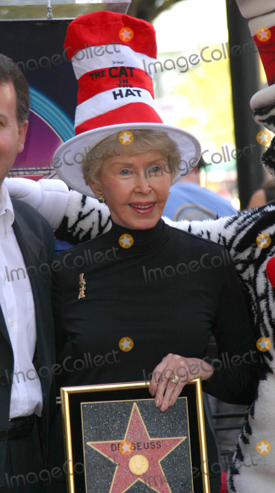 Audrey Geisel Photo - AUDREY GEISEL THE WIFE OF AUTHOR DR SEUSS (THEODOR GEISEL) POSED AS HE WAS HONORED WITH THE 2249TH STAR -DR SEUSS HONORED WITH STAR ON THE HOLLYWOOD WALK OF FAME -HOLLYWOOD BOULEVARD HOLLYWOOD CA -03112004 -PHOTO BY NINA PROMMERGLOBE PHOTOS INC2004K36070NP