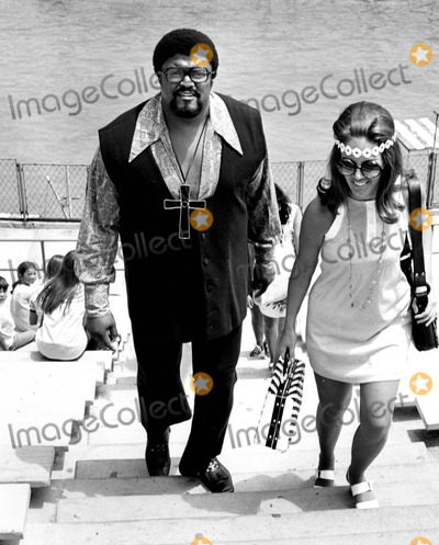 Rosey Grier Photo - Rosey Grier at Marineland of the Pacific So California Bob NobleGlobe Photos Inc