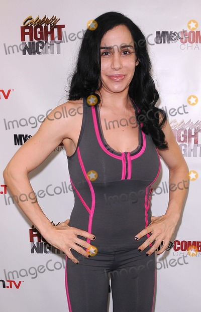 Nadya Octomom Suleman Photo - Press Conference For Celebrity Fight Night at 9021go Showroom in Beverly Hills CA 92611 Photo by Scott Kirkland-Globe Photos   2011 Nadya Octomon Suleman