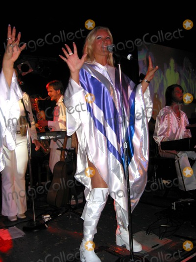 ABBA Photo - Abba and the Stockholm Symphonia Perform at Bb Kings Blues Club and Grill NYC 080302 Photo by John KrondesGlobe Photos Inc