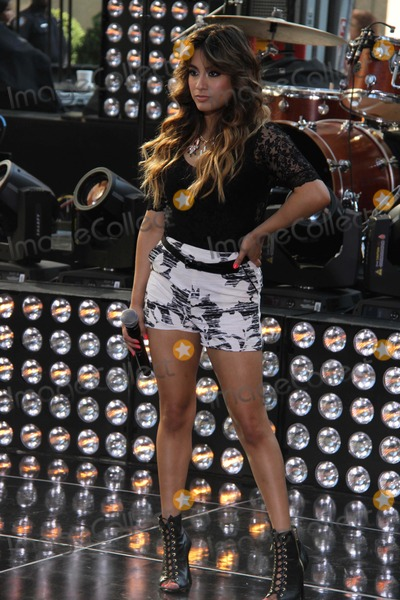 Alle Brooke Photo - All Brooke Fifth Harmony  Performing on NBC Today Show7-18-2013 Photo by John BarrettGlobe Photos