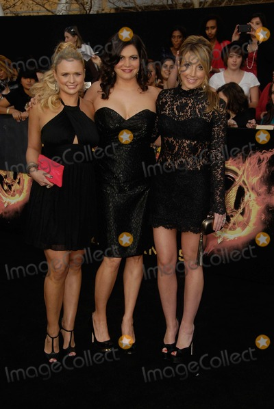 Ashley Monroe Photo - Miranda Lambert Angaleena Presley Ashley Monroe attending the Los Angeles Premiere of the Hunger Games Held at the Nokia Theatre LA Live in Los Angeles California on 31212 Photo by D Long- Globe Photos Inc