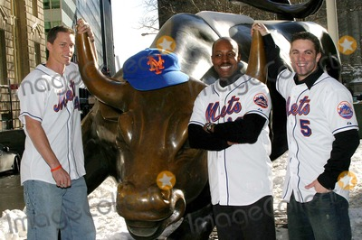 Kris Benson Photo - NY Mets Annual Caravan Kick-off Press Conference 24 Broadway  New York City 01-25-2005 Photo by Barry Talesnick-ipol-Globe Photosinc Kris Benson_willie Randolph_david Wright