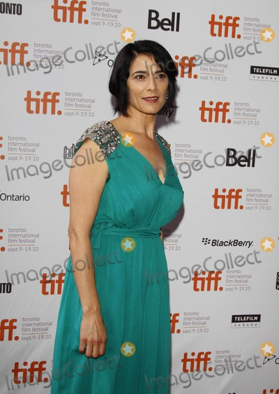 Hiam Abbass Photo - Actress Hiam Abbass attends the Premiere of Miral During the 2010 Toronto International Film Festival at Ryerson Theatre in Toronto Canada on September 13th 2010 Photo by Alec Michael-Globe Photos Inc