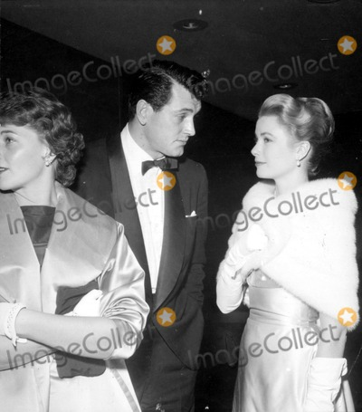 Rock Hudson Photo - Mr  Mrs Rock Hudson and Grace Kellyprincess Grace Globe Photos Inc