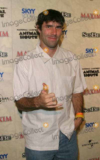 Andy MacDonald Photo - Andy Macdonald - Maxim Magazine and Sobe Hold a Toga Party to Celebrate the X Games Roman Style - Club Ad Hollywood CA - 08162003 - Photo by Nina PrommerGlobe Photos Inc2003