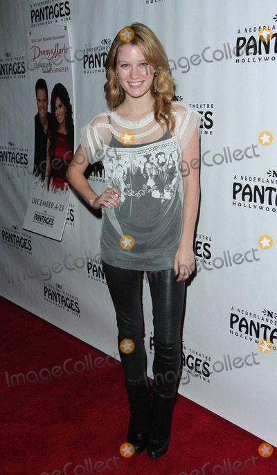 Ashley Hinshaw Photo - Ashley Hinshaw attends Donnie  Marie Christmas in Los Angeles on 4th December 2012 at the Pantages Theatrelos Angelescausaphoto TleopoldGlobephotos