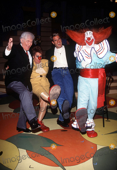 Tammy Faye Baker Photo - Larry Harmontammy Faye Baker Jim J Bozo the Clown Phototom RodriguezGlobe Photos Inc