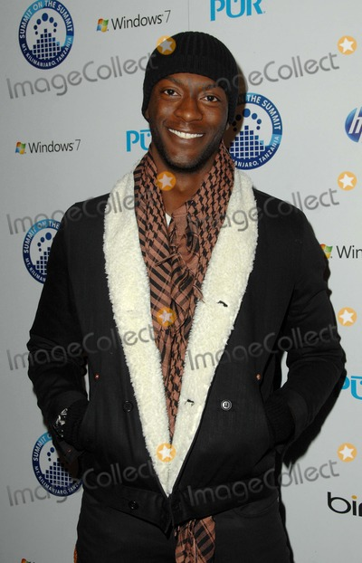 Aldis Hodge Photo - Summit to Summit Kilimanjaro Pre-ascent Event at Voyeur in West Hollywood CA 12-09-2009 Photo by James Diddick-Globe Photos  2009 Aldis Hodge