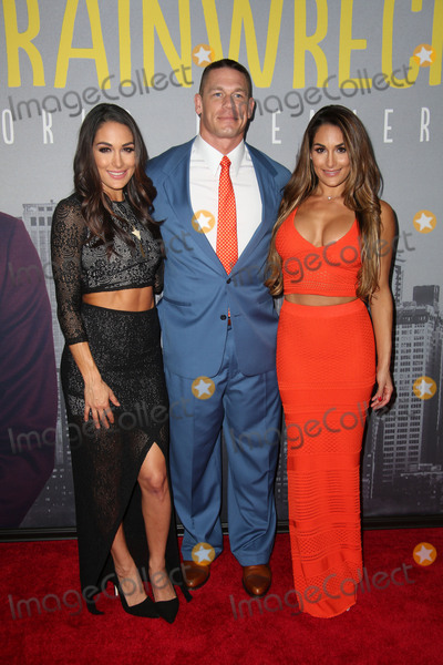 Brie Bella Photo - Brie Bella John Cena and Nikki Bella Attend the World Premiere of Trainwreck to Benefit the Film Society of Lincoln Center Alice Tully Hall NYC July 14 2015 Photos by Sonia Moskowitz Globe Photos Inc