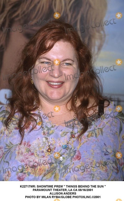Allison Anders Photo -  Showtime Prem  Things Behind the Sun  Paramount Theater LA CA 08162001 Allison Anders Photo by Milan RybaGlobe Photosinc