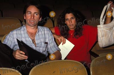 Patti Davis Photo - Rehearsals For Nuclear Freeze Benefit 1982 John Ritter and Patti Davis Photo by Phil RoachipolGlobe Photos Inc 1982 Johnritterretro