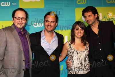 AUSTIN BASIS Photo - The Cw Upfront 2010 Green Carpet Arrivals Madison Square Garden NYC 05-20-2010 Photos by Sonia Moskowitz Globe Photos Inc 2010 Austin Basis Kerr Smith Shiri Appleby